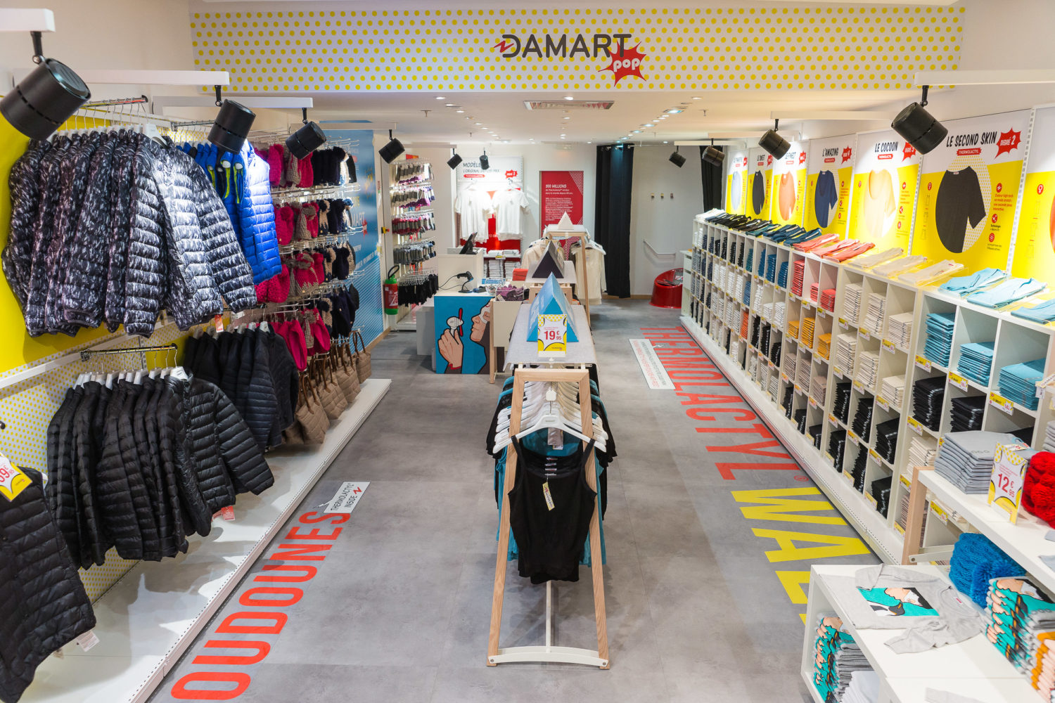 pop-up store damart