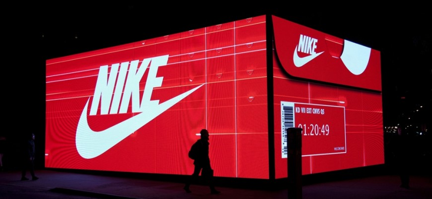 photo pop-up nike boite a chaussures