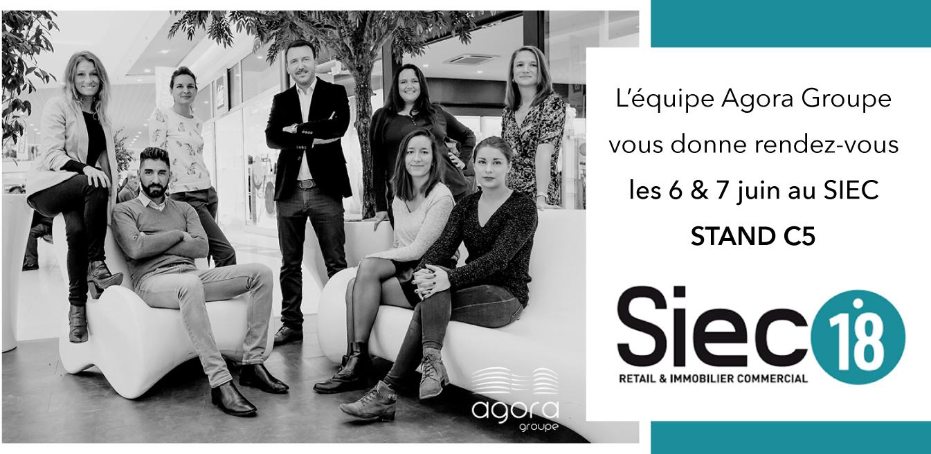 visuel site web agora groupe au siec 2018
