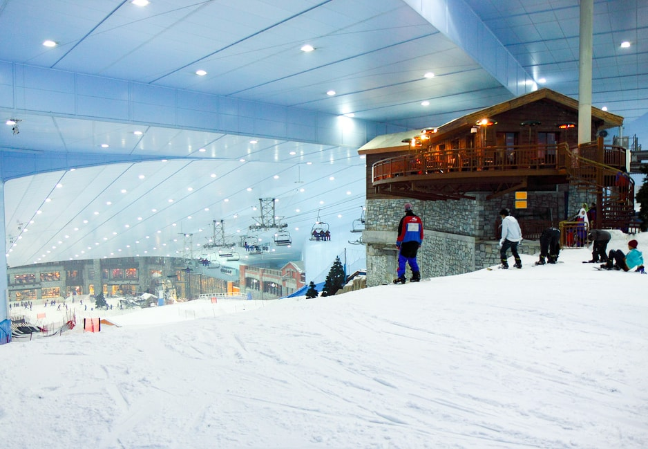 piste de ski mall of emirates